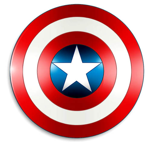DIY Captain America Shield and Activities | Desert Chica