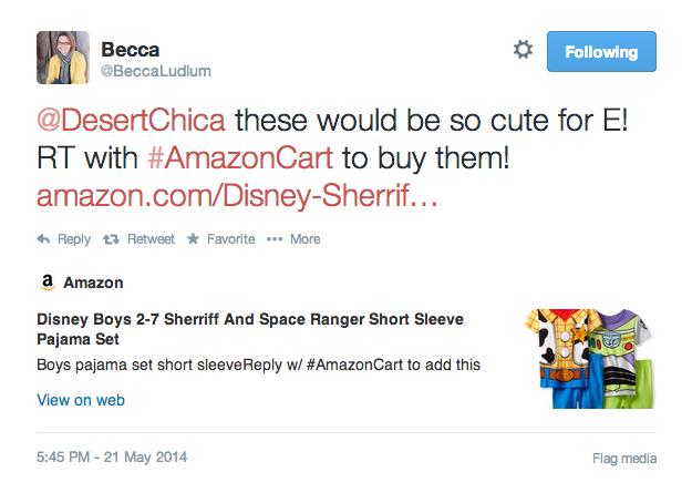 Shop on Twitter #AmazonCart #Shop #Cbias