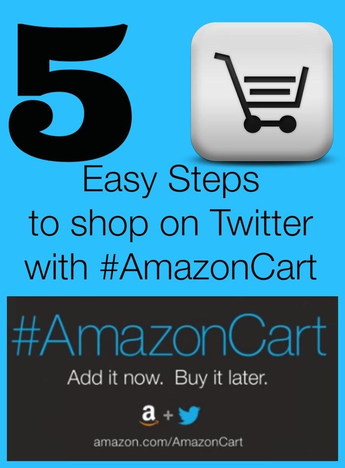 shop on twitter with amazon cart #shop #cbias #AmazonCart