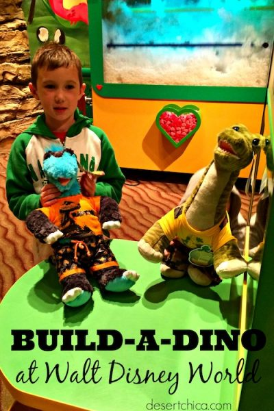 Build-A-Dino in Downtown Disney