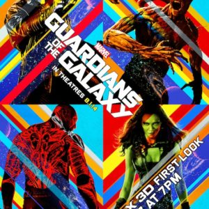 Guardians OF The Galaxy Free Poster
