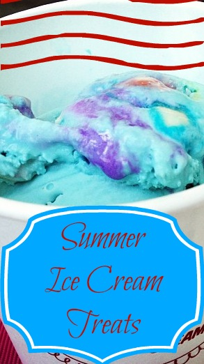 Summer Ice Cream Treats