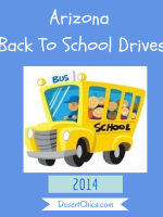 Arizona Back To School Drives 2014