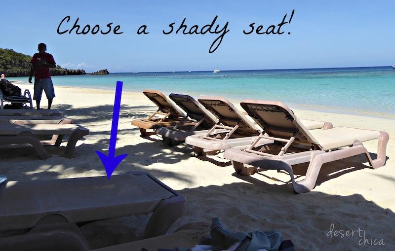 Choose a shady seat #Shop