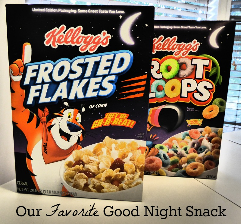 Our favorite good night snack #SHOP #GoodNightSnack