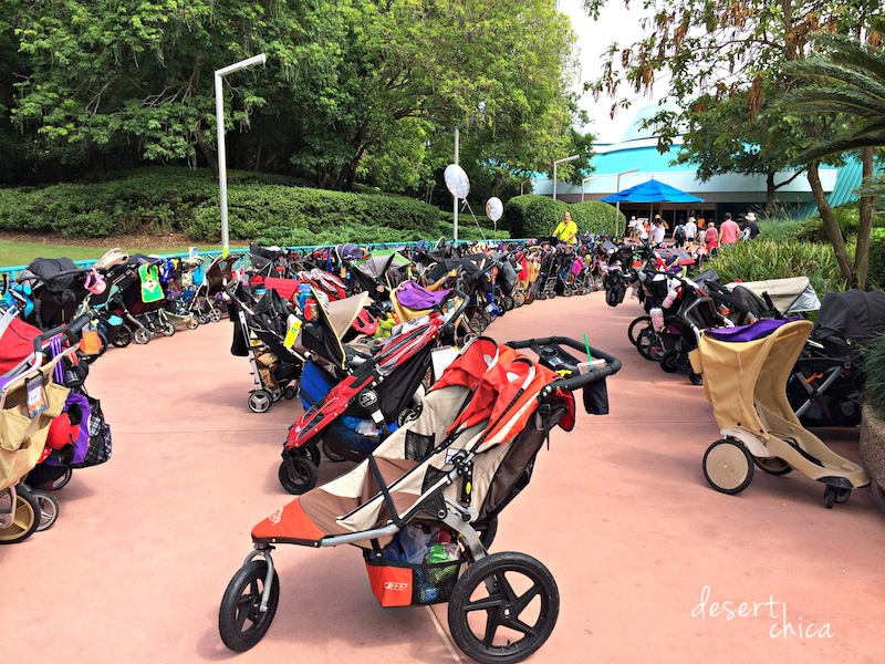 Stroller parking at Epcot.jpg