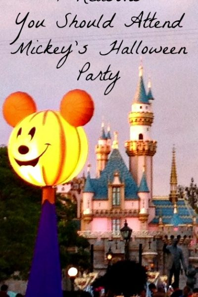 7 Reasons You Should Attend Mickey's Halloween Party