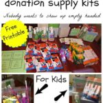 Back To School Donation Supply Kits