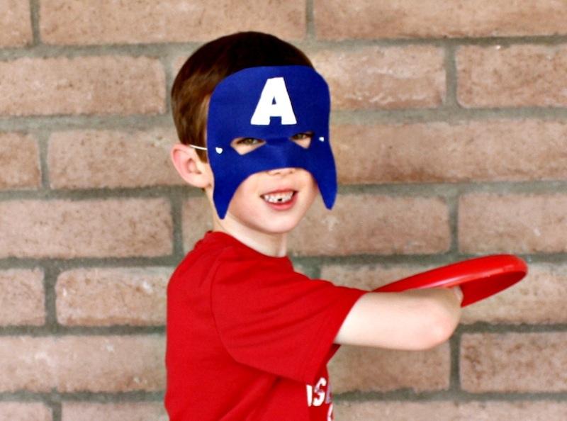 Captain America Mask missing his teeth