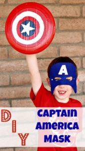 DIY Captain America Mask