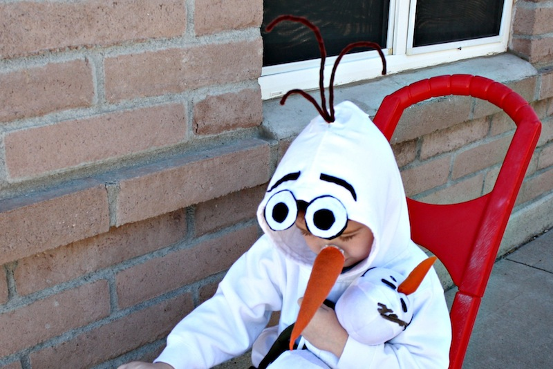 Easy Olaf Costume