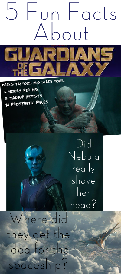 5 Fun Facts about Guardians of the Galaxy
