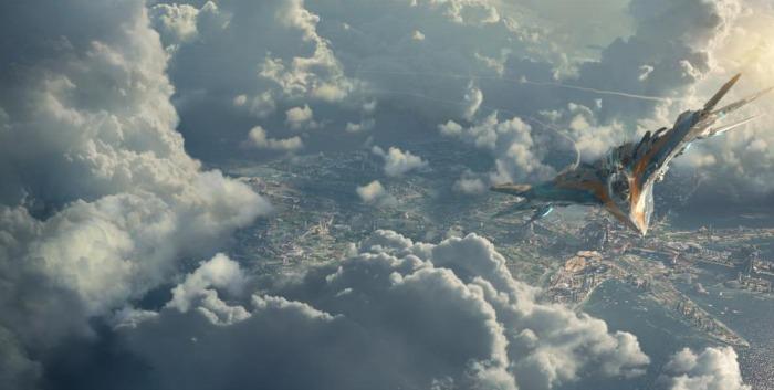Milano Spaceship Guardians of the Galaxy