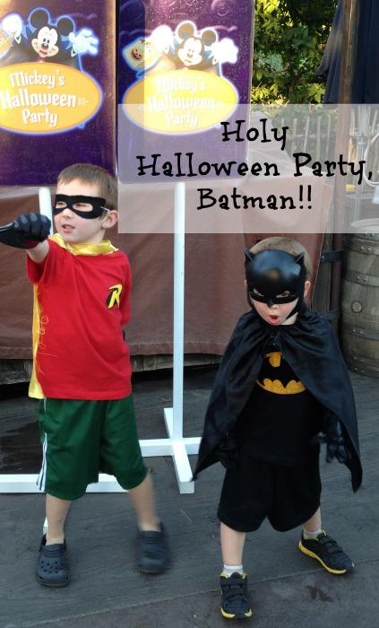 Holy Halloween Party Batman