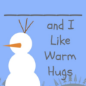 Olaf Valentines Printable - I like Warm Hugs