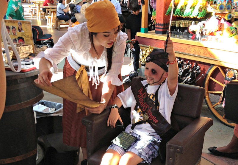 Pirates league at Mickey's Halloween Party