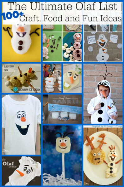 The Ultimate List of Olaf Ideas