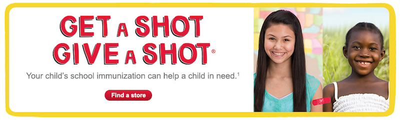 Walgreens Get a Shot Give a Shot
