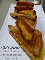 Whole Foods Grill Cheese and Heirloom Tomato Sandwich