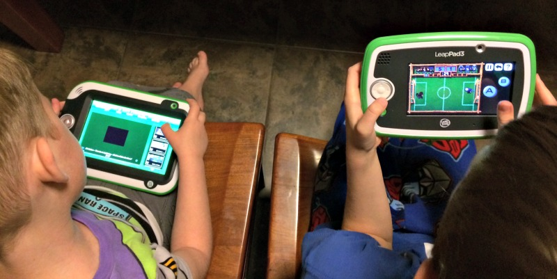 Peer to peer gaming with Leappad 3 review