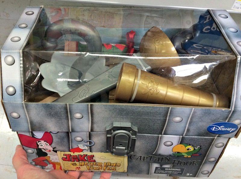 Captain Hook Treasure Chest #shop