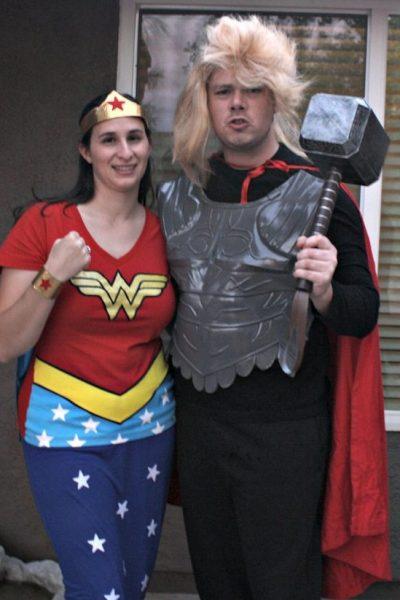 DIY Thor DIY Wonder Woman Costume
