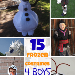 Disney Frozen Costumes for BOYS!