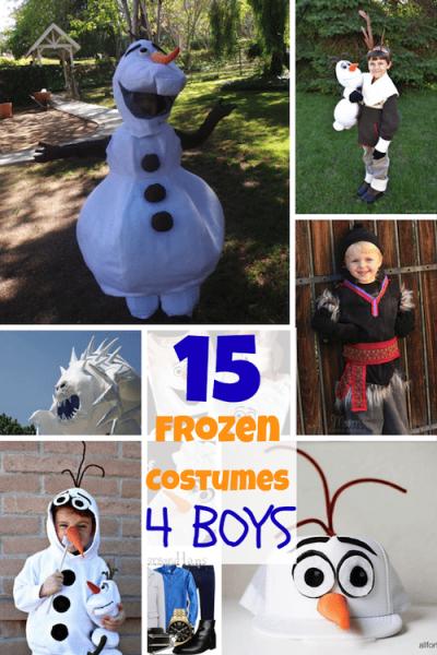 Disney Frozen Costumes for BOYS!