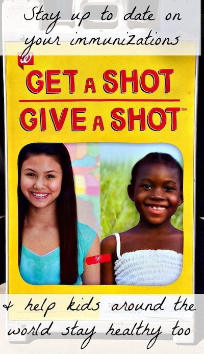 Get a Shot Give A Shot #Shop