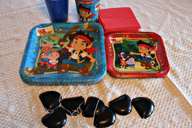 Jake and the Neverland Pirate Birhtday Party Ideas Accessories #SHOP