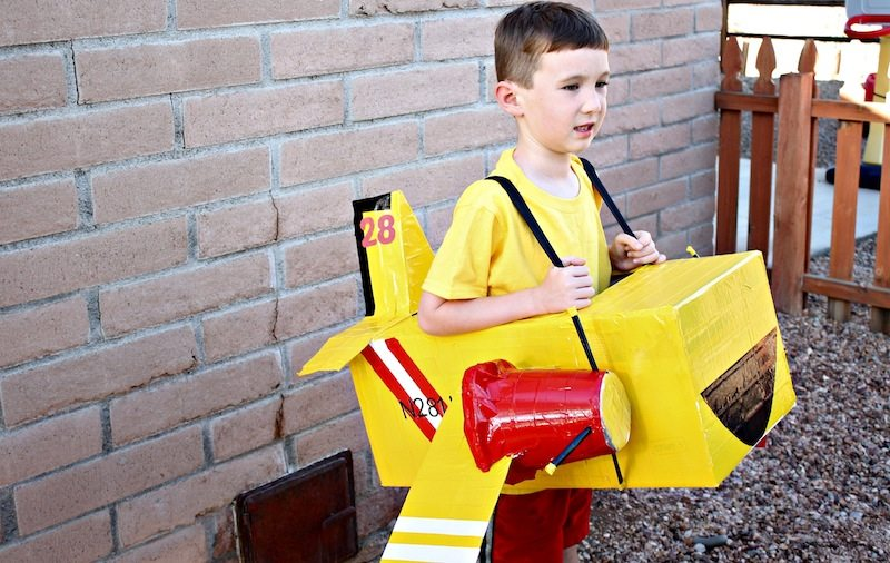 Lil Dipper Halloween Costume  sc 1 st  Desert Chica : airplane costume for toddler  - Germanpascual.Com