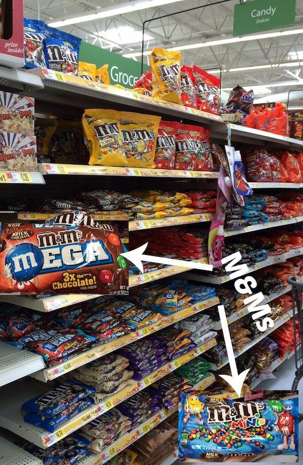 M&Ms at Walmart #shop