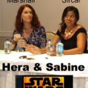 Chatting with Hera and Sabine