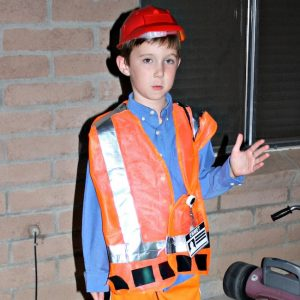 DIY Emmet LEGO Movie Costume