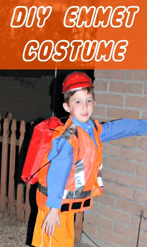 DIY Emmet Halloween Costume. I shared our LEGO Movie ...  sc 1 st  Desert Chica & DIY Emmet LEGO Movie Costume | Desert Chica