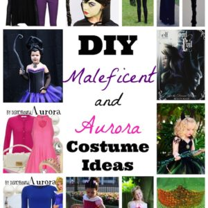 DIY Maleficent and Aurora Costume Ideas