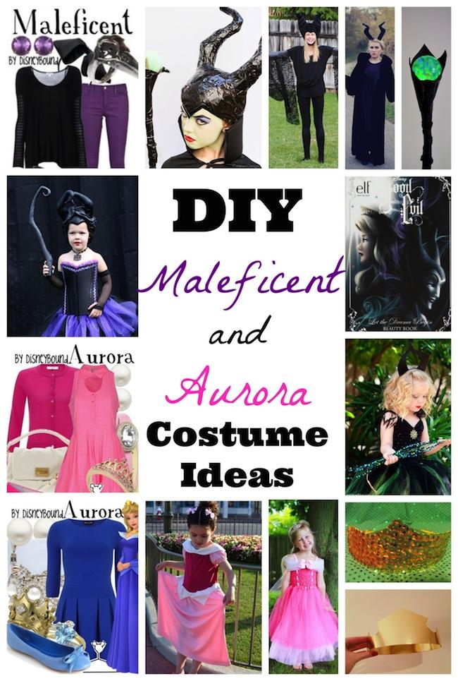 DIYDIY Maleficent Costume Ideas and Sleeping Beauty Costume Ideas