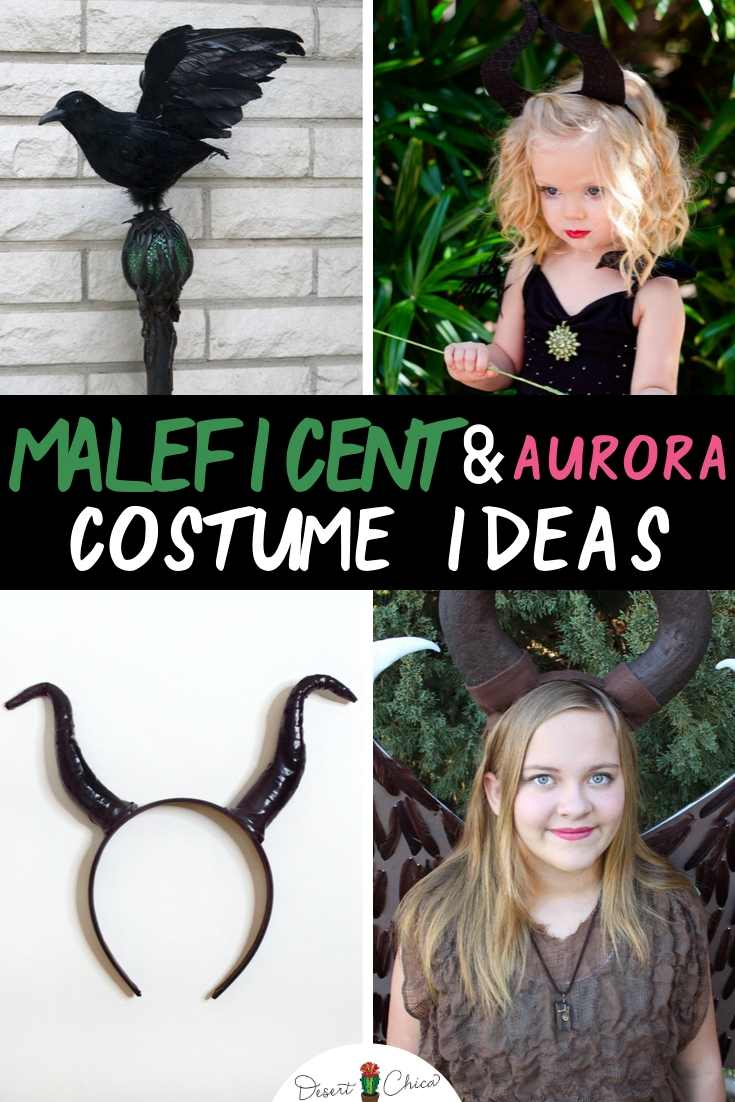 Diy Aurora And Maleficent Costume Ideas Desert Chica