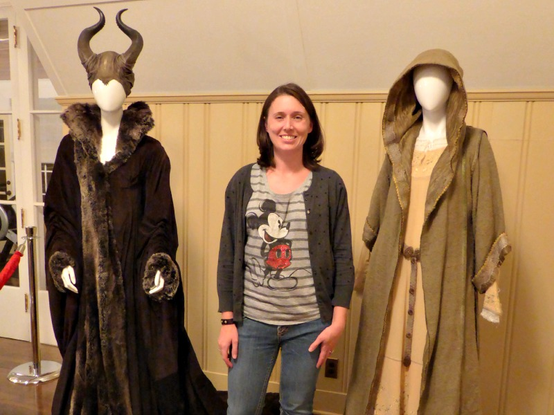 Maleficent costumes at Walt Disney's House maleficent bonus features
