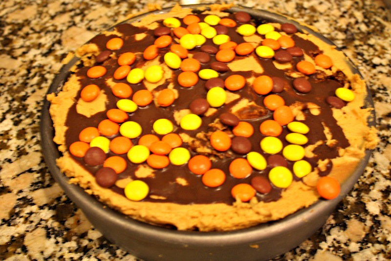 Peanut Butter Cheese Cake Mud Pie