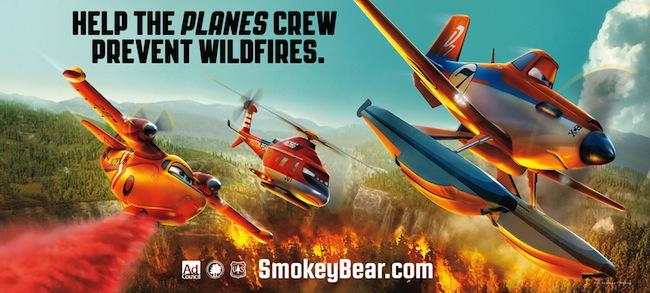 Planes-Fire Smokey Bear