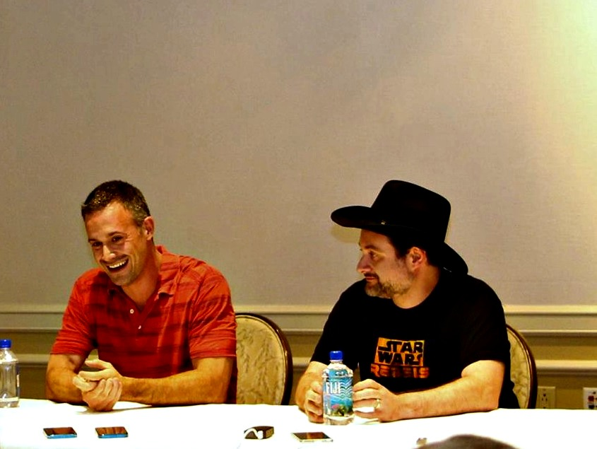 STAR WARS REBELS Freddie Prinze Jr and Dave Filoni