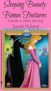 Sleeping Beauty Bonus Features Sarah Hyland