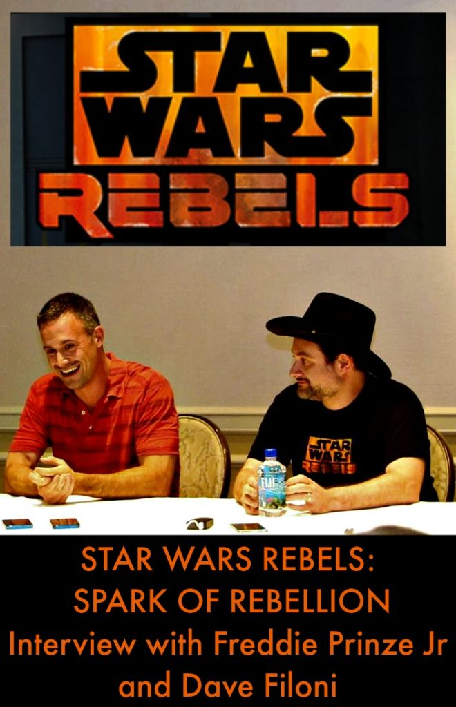Star Wars Rebels Freddie Prinze Jr Interview