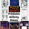 Star Wars Rebels Printable Activity Sheets #StarWarsRebels