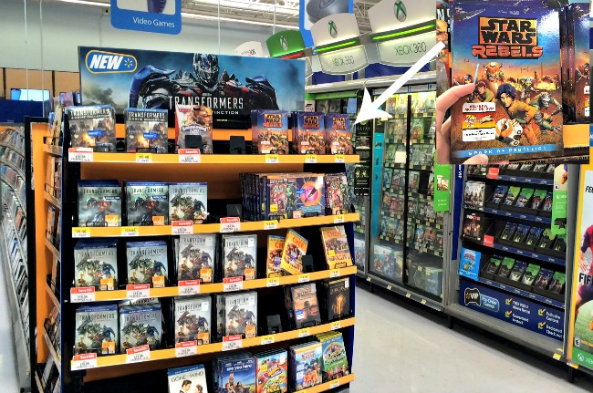 Star Wars Rebels #SparkRebellion DVD at Walmart #Shop