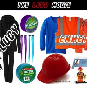 The LEGO Movie Costume Ideas