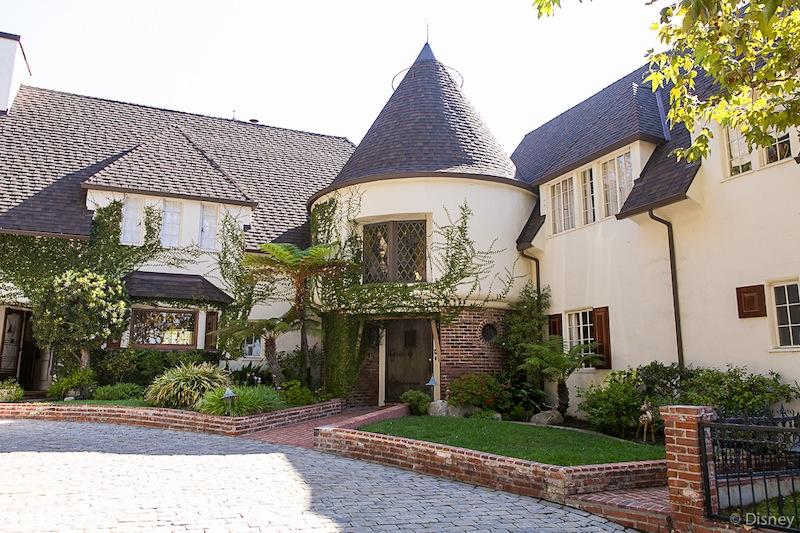 Walt disney's House Exterior