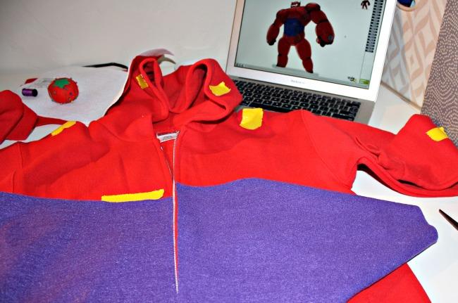 plan Baymax costume