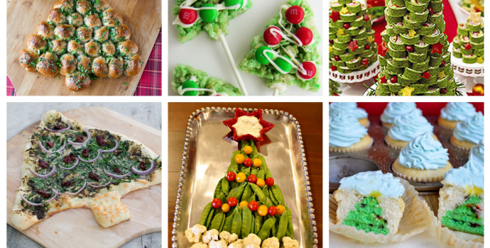 12 days of christmas tree recipes slider